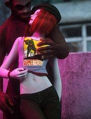 Damsel: Werewolf with big dick