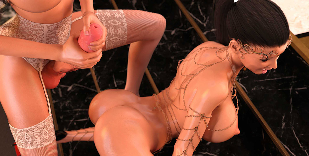That was the benefit of being a dickgirl - Lust unleashed: Ascension part 2 by TheDude3dx
