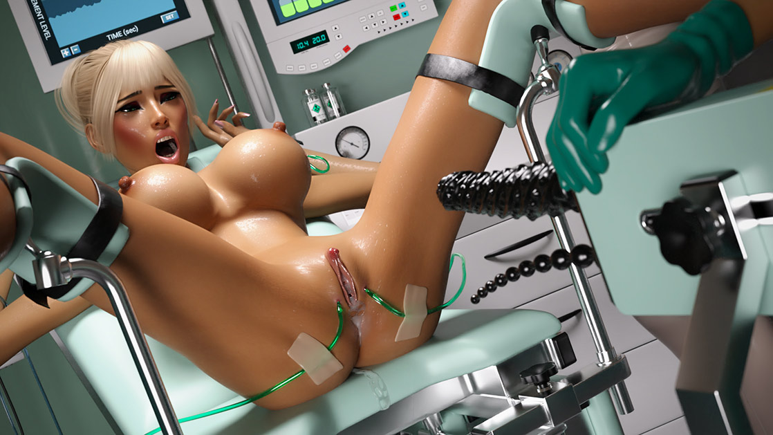 We'll start with anal stimulation - The Experiment 3 (Nicole, Dr.Megan, Dr.Valery) by Miki3dx
