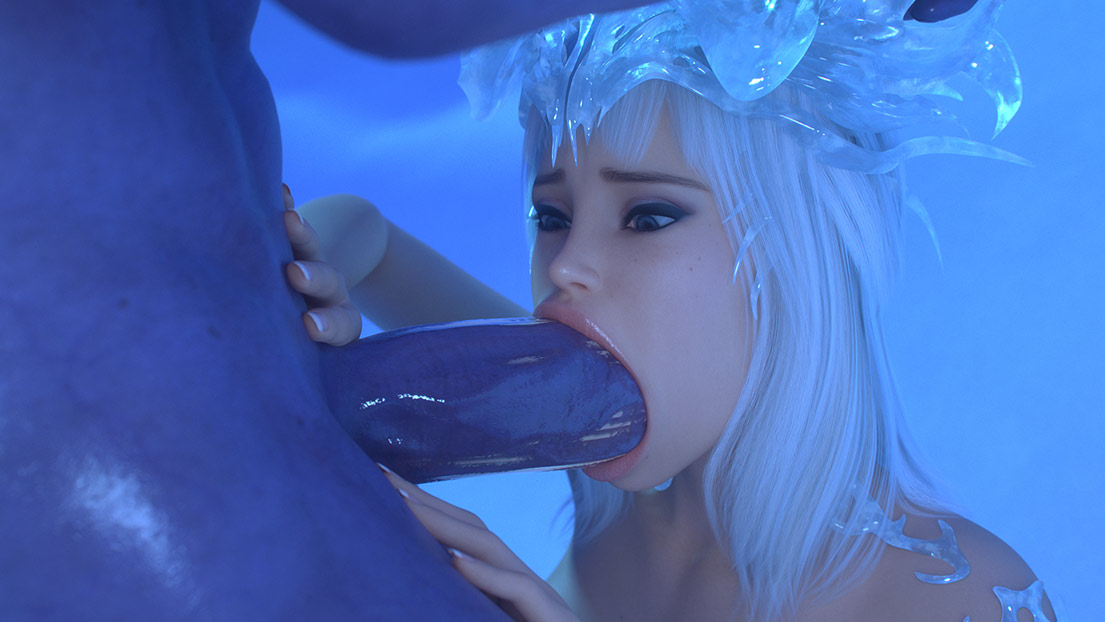 Monster, fuck me hard - Ice Princess by Lord Kvento