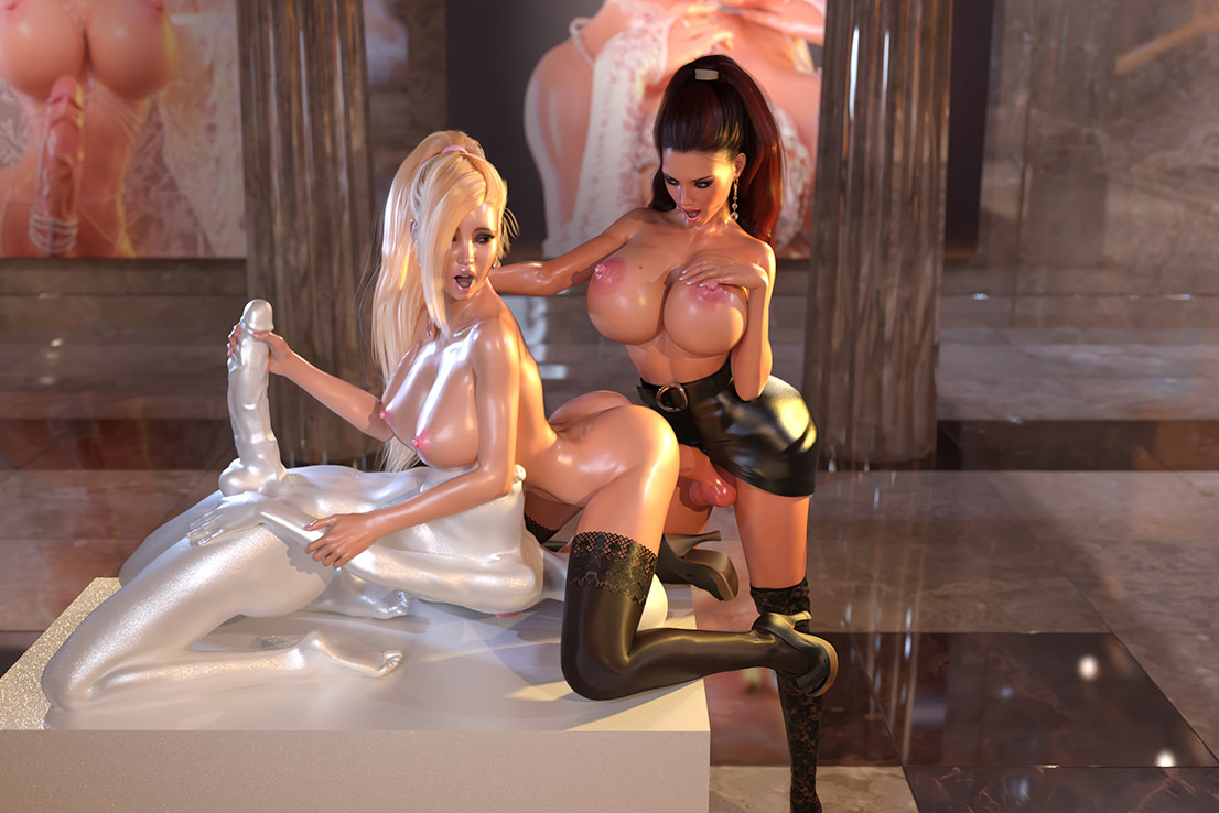 Lust Unleashed: Kayla Meets Marcella: I want to see you cum in your mouth