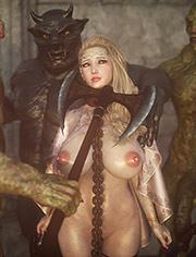 Elf slave 6 Three Elves – Fuck slave's pussy