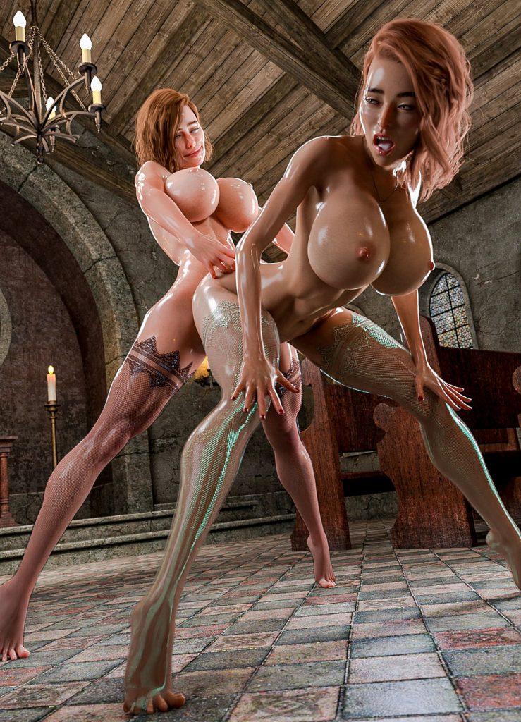 Huge cock girls dream - A Taste Of Sin Pt.2 by Katie3dx