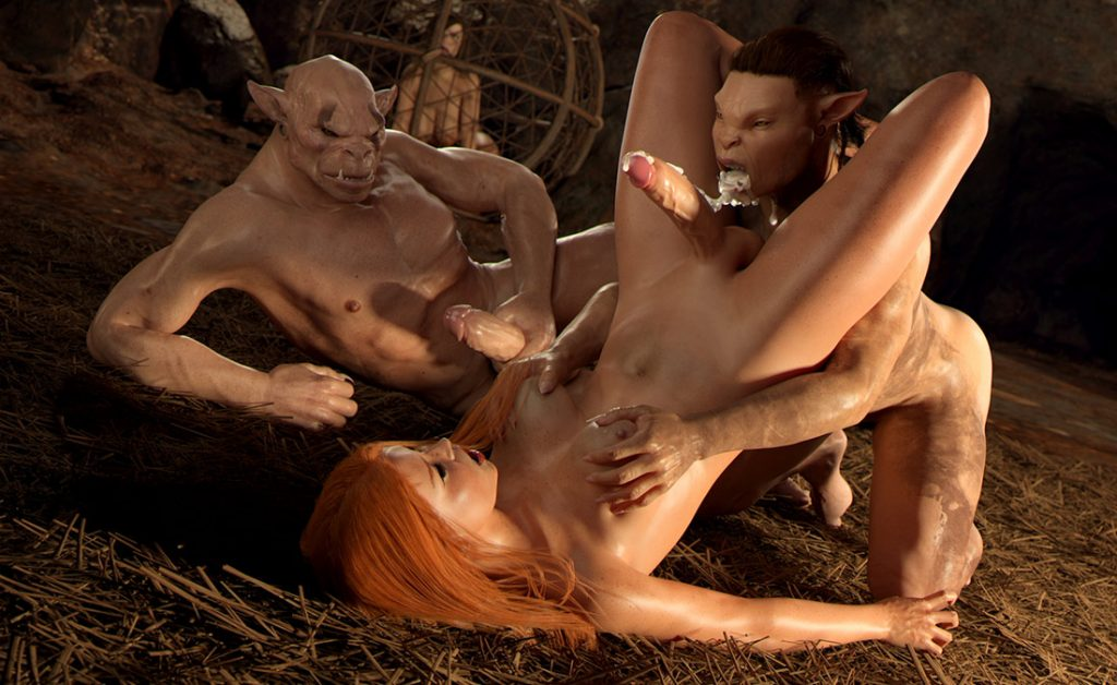 Stretch her hole harder - First Contact 7 Night of Primal Lust by Golden Master