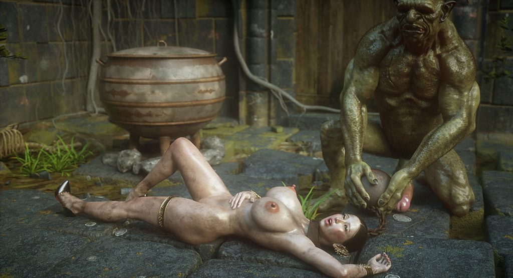 Submissive slutty slave - Elf slave 8 The final by Jared999d