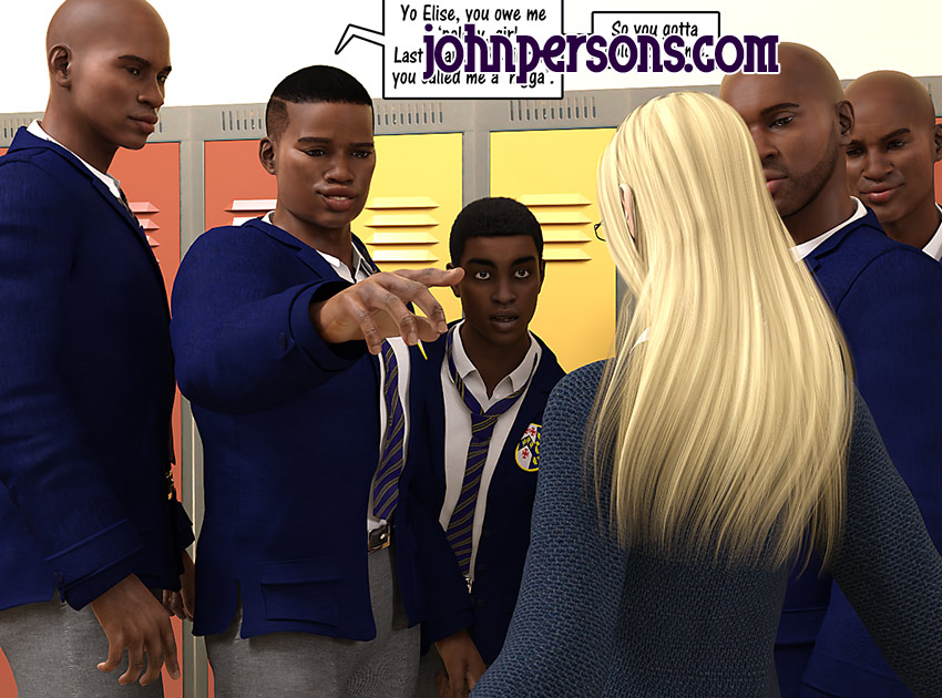 I'm the one who got with the hottest blonde in school - Christian knockers by Dark Lord