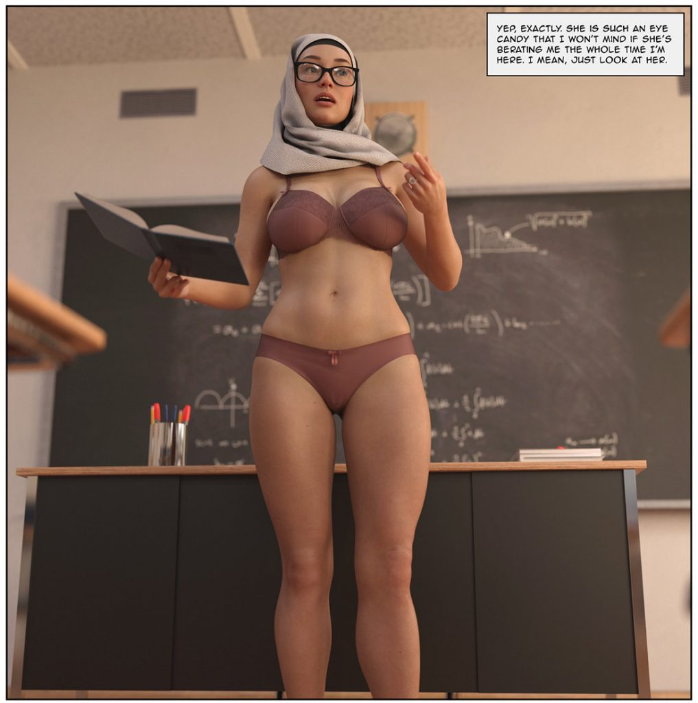 I kept thinking that she might be sexually frustrated - Alpha by Losekontrol (Hijab 3DX)