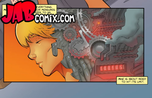 My sensors are at maximum levels - Artificial probing by jab comix